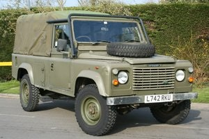 Picture of 1993 Land Rover Defender 110 2.5D Ex MOD Tithonus Soft Top SOLD