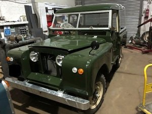 Picture of 1958 Land Rover Series 2, 2.25 petrol, Galvanised chassis  SOLD