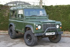 Picture of 1986 Land Rover Defender 90 2.5D Ex MOD Hard Top SOLD