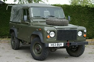 Picture of 1991 Land Rover Defender 90 2.5D Ex MOD Soft Top Left Hand Drive SOLD