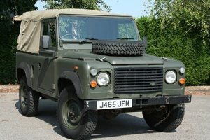 Picture of 1992 Land Rover Defender 90 2.5D Ex MOD Soft Top SOLD