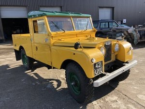 Picture of 1956 Land Rover Series 1, 109,  1 owner, Great chassis For Sale