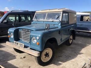 Picture of 1978 Land Rover Series 3 2.25 petrol, nut and bolt rebuild SOLD