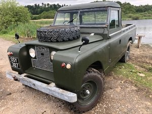 Picture of 1963 Land Rover 109 200tdi Galvanised chassis,bulkhead,rad panel  SOLD