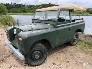 Picture of Land Rover Series 2 1960 softtop Galvanised chassis ORIGINAL SOLD