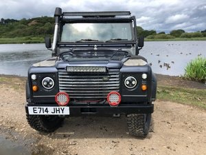 Picture of 1987 LAND ROVER 90 300tdi Automatic Galvanised chassis & Bulkhead SOLD