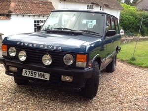 1992 Range Rover Vogue EFI 3.9 For Sale (picture 2 of 6)
