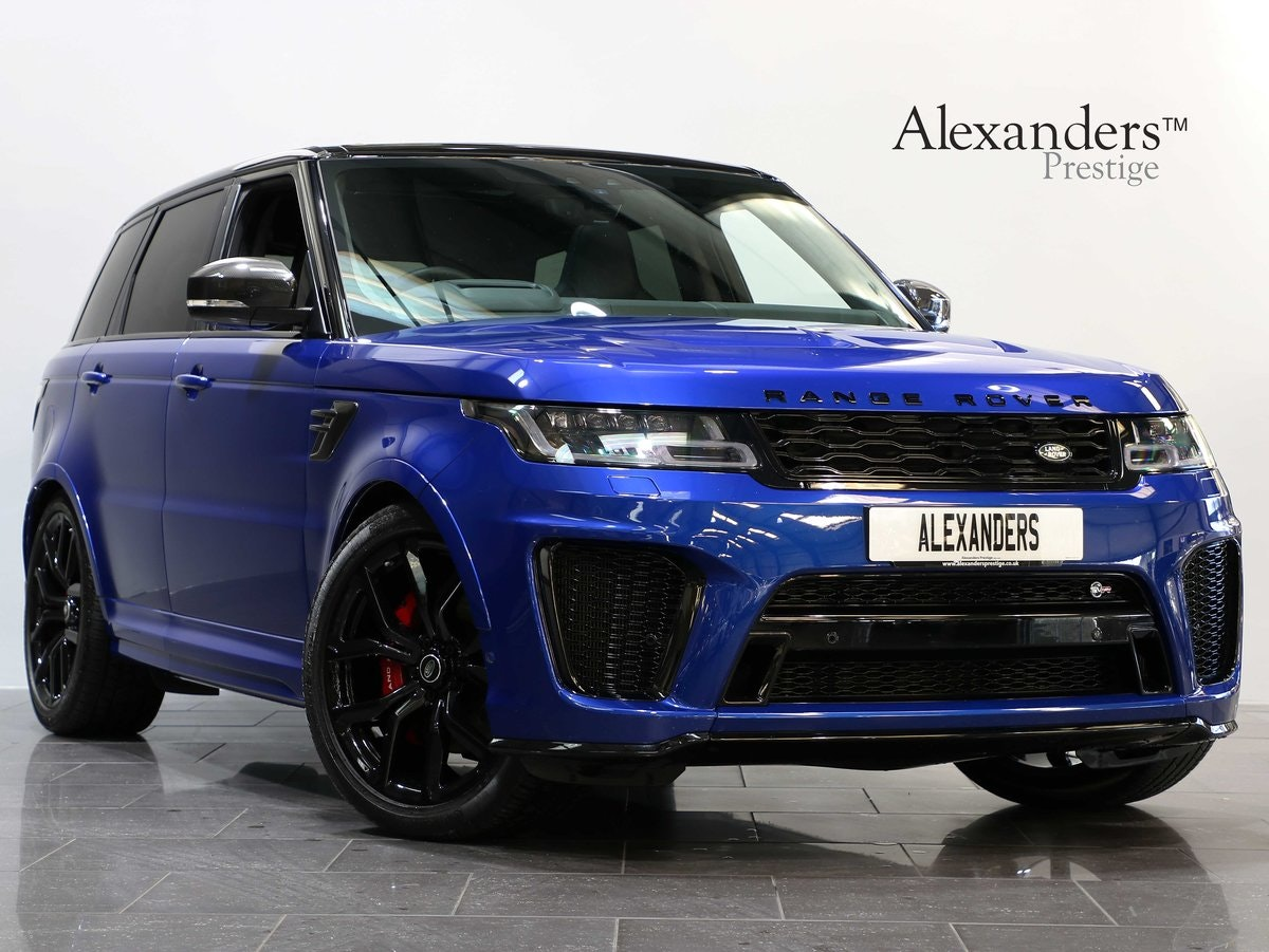 2019 19 19 RANGE ROVER SPORT 5.0 S/C SVR AUTO For Sale (picture 1 of 6)