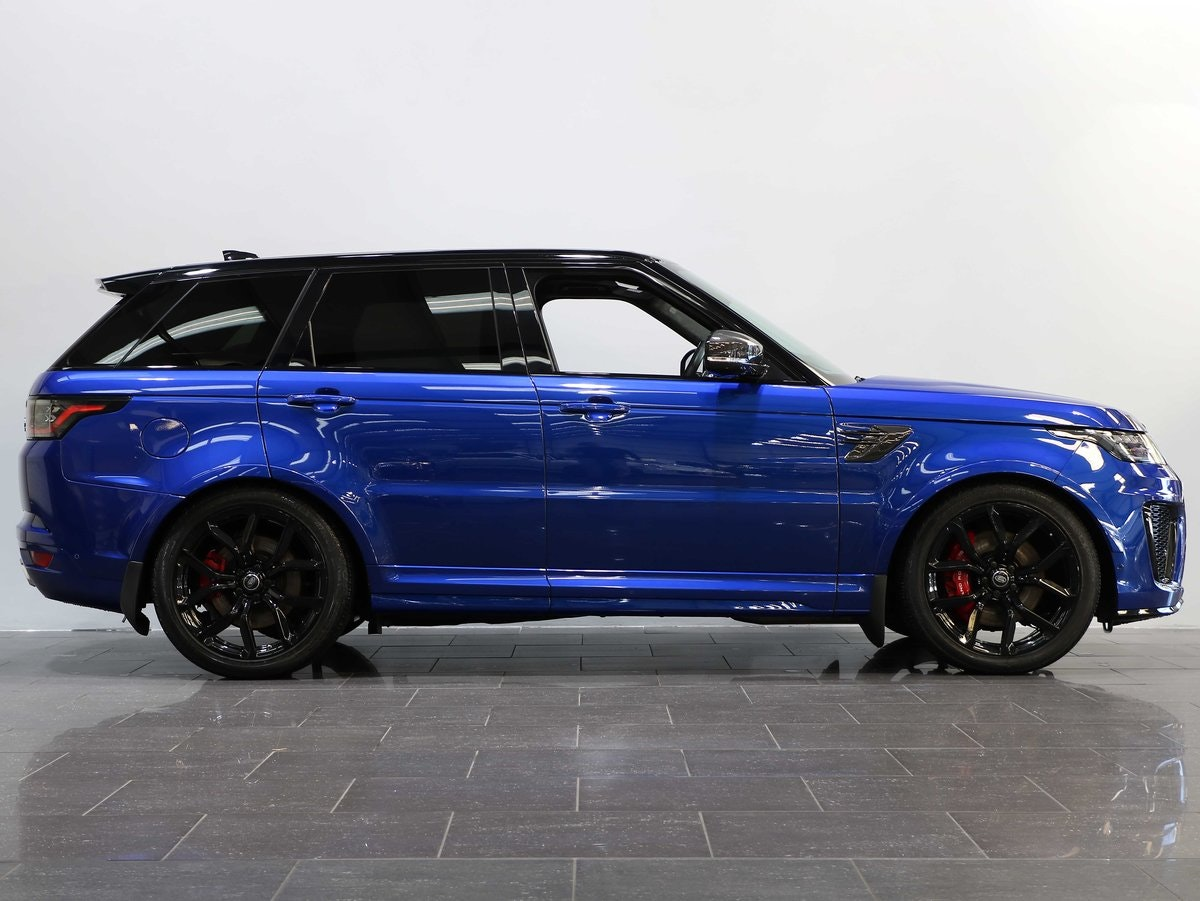 2019 19 19 RANGE ROVER SPORT 5.0 S/C SVR AUTO For Sale (picture 2 of 6)