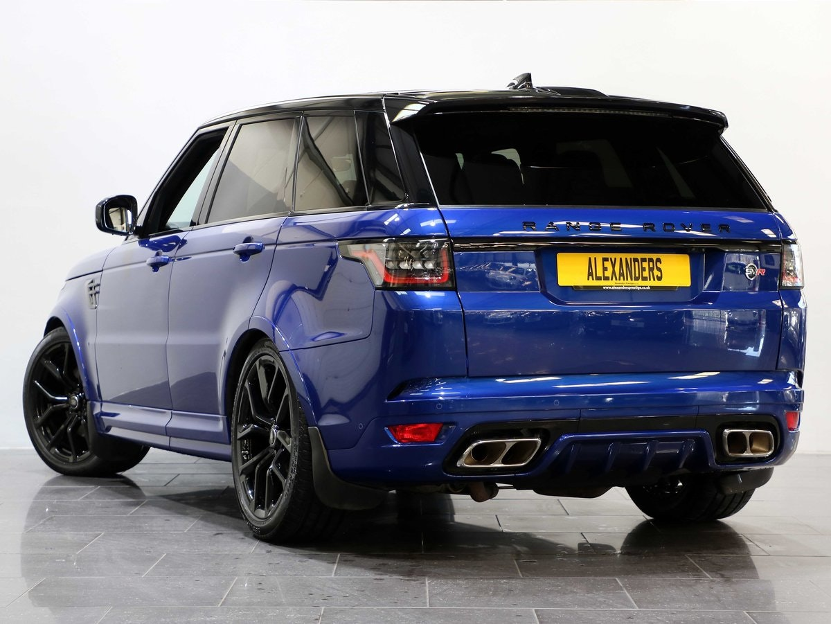 2019 19 19 RANGE ROVER SPORT 5.0 S/C SVR AUTO For Sale (picture 3 of 6)