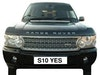 Number Plate S10 YES (Car Not Included)