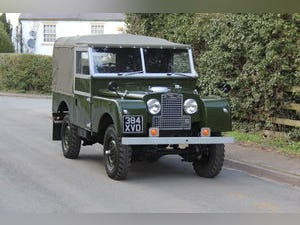 1954 Land Rover Series I - Beautifully Restored For Sale (picture 1 of 17)