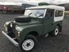 Picture of 1955 Land Rover Series 1, Galvanised chassis & bulkhead SOLD