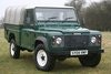 Picture of 2004 Land Rover Defender 2.5 TD5 Hi Capacity Pick Up SOLD