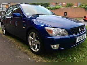 2001 Lexus iS 200 SE RS edition 6 cylinder 6speed FSH Excellent For Sale (picture 6 of 6)