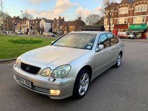2001 Lexus gs300 automatic saloon For Sale (picture 2 of 12)