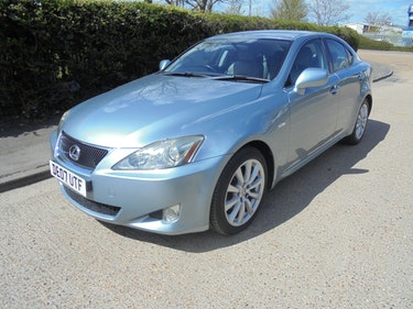 Picture of Lexus IS 250 2.5 Petrol SE 4dr Manual 2007 For Sale
