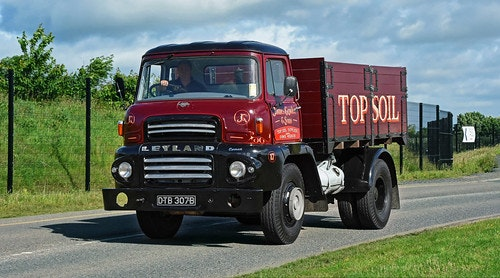 Picture of 1964 leyland comet shortwheel base tipper For Sale