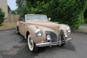 Picture of 1941 Lincoln Continental  SOLD by Auction