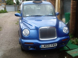 2006 Nice blue TX2 London Taxi For Sale (picture 1 of 5)