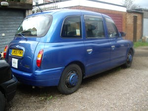 2006 Nice blue TX2 London Taxi For Sale (picture 4 of 5)
