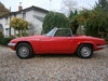 LOTUS ELAN S4 LHD DHC COMPLETE CAR LESS ENGINE 1971 *SOLD*