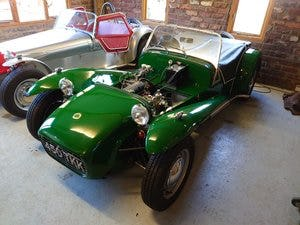 1963 Lotus Seven S2 fully rebuilt first reg 1962 For Sale (picture 6 of 6)
