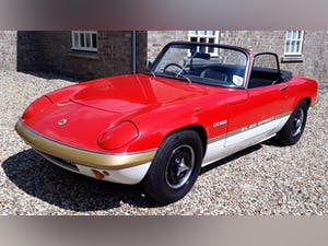 Lotus Elan Sprint 1972 Drophead Coupe £35k Spent Owned 1981 For Sale (picture 2 of 12)