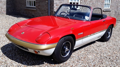 Picture of Lotus Elan Sprint 1972 Drophead Coupe £35k Spent Owned 1981 For Sale
