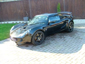 2009 LOTUS ELISE 111 S IN STARLIGHT BLACK SOLD (picture 1 of 12)