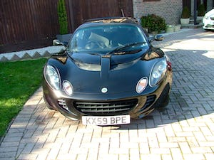 2009 LOTUS ELISE 111 S IN STARLIGHT BLACK SOLD (picture 2 of 12)