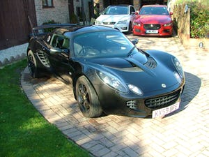 2009 LOTUS ELISE 111 S IN STARLIGHT BLACK SOLD (picture 3 of 12)