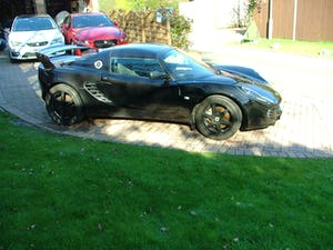 2009 LOTUS ELISE 111 S IN STARLIGHT BLACK SOLD (picture 4 of 12)