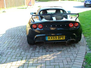 2009 LOTUS ELISE 111 S IN STARLIGHT BLACK SOLD (picture 5 of 12)