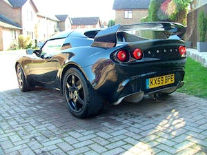 2009 LOTUS ELISE 111 S IN STARLIGHT BLACK SOLD (picture 6 of 12)