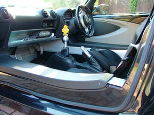 2009 LOTUS ELISE 111 S IN STARLIGHT BLACK SOLD (picture 8 of 12)