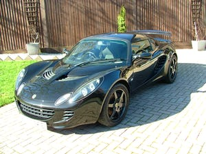 2009 LOTUS ELISE 111 S IN STARLIGHT BLACK SOLD (picture 9 of 12)