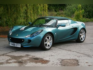 2001 Lotus Elise S2 For Sale (picture 1 of 11)