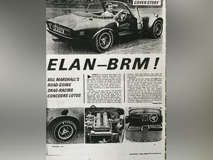 1969 BRM Elan Phase 111 unique car .. For Sale (picture 10 of 12)