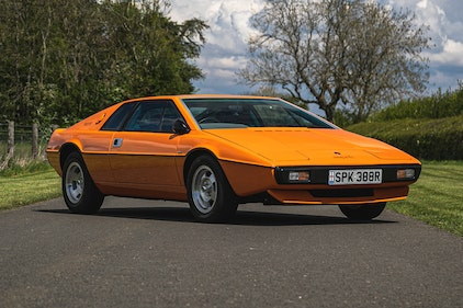 Picture of Lot No. 352 - 1977 Lotus Esprit S1 For Sale by Auction