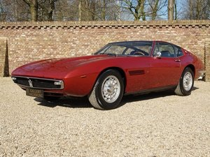 Picture of 1970 Maserati Ghibli 4.9 SS matching numbers / colours, rare SS v For Sale
