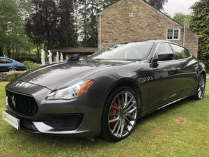 INCREDIBLE 2018my MASERATI QUATTROPORTE GRANSPORT V6D For Sale (picture 1 of 6)