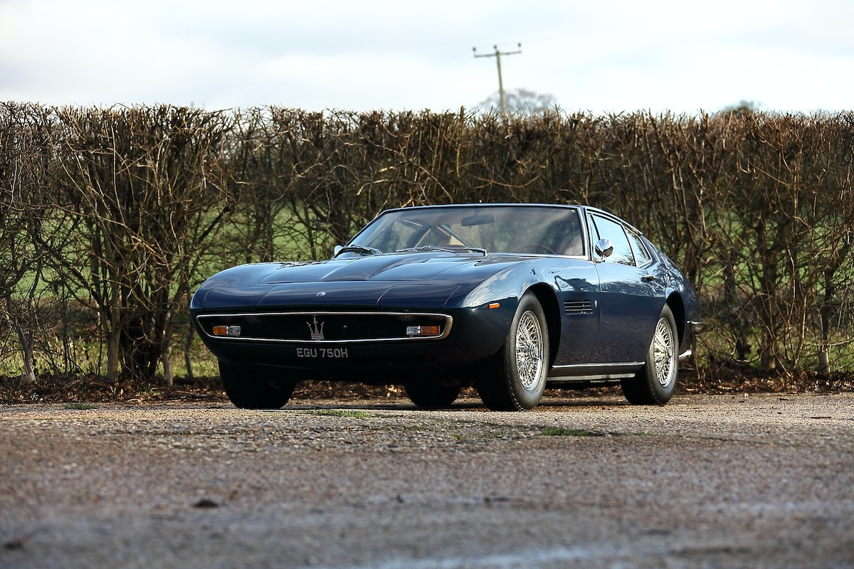 1970 Maserati Ghibli - fully restored For Sale (picture 1 of 5)