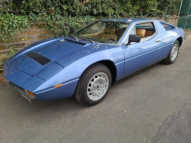 Picture of 1978 MASERATI MERAK 3.0 SS, 56000 KM, ONE OWNER For Sale