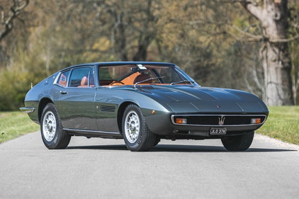 Picture of 1972 Maserati Ghibli 4.7 Coupé For Sale by Auction