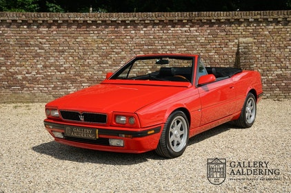 Picture of 1991 Maserati Biturbo Spider Fully revised engine, top condition For Sale