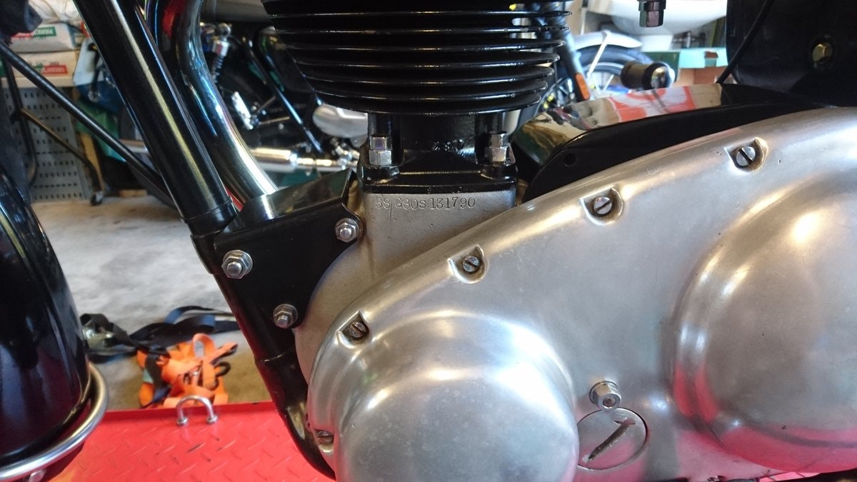 1958 Matchless G80S 500cc - Provisionally Sold SOLD (picture 4 of 6)