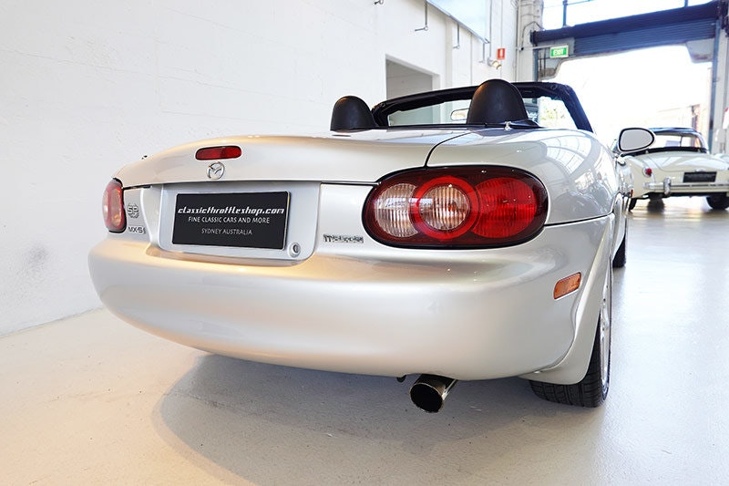 2001 1 of 100 MX-5 SP built for Australia, turbo charged, low kms SOLD (picture 2 of 6)