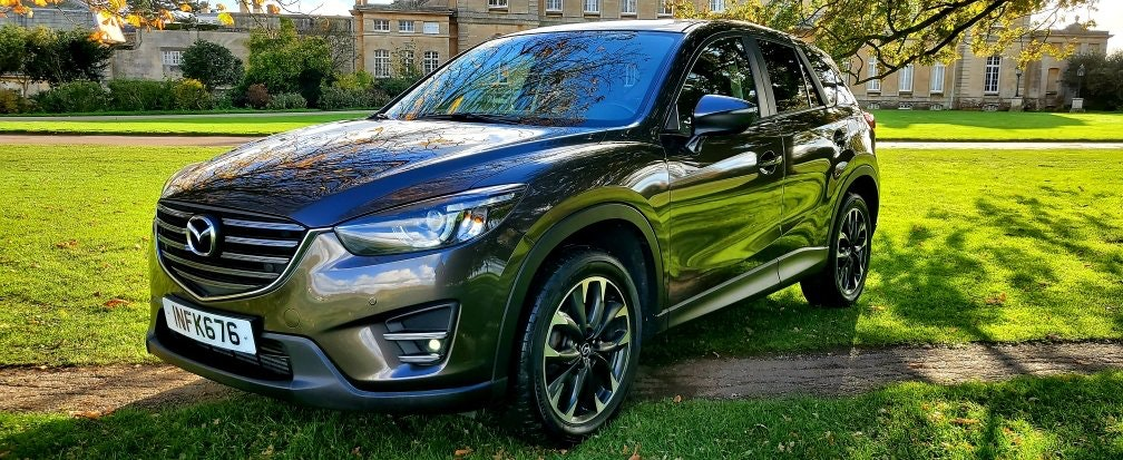 2016 LHD Mazda CX-5 2.2D SPORT NAV, LEFT HAND DRIVE For Sale (picture 2 of 6)