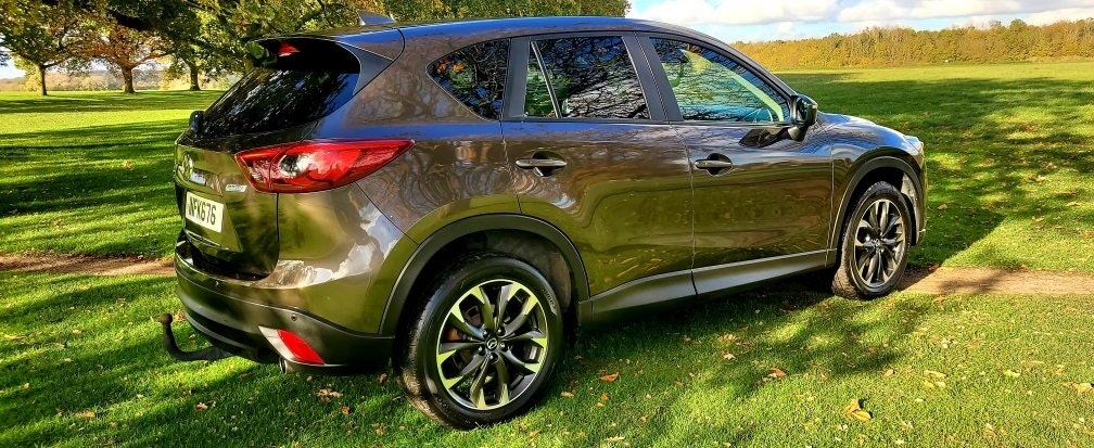 2016 LHD Mazda CX-5 2.2D SPORT NAV, LEFT HAND DRIVE For Sale (picture 4 of 6)